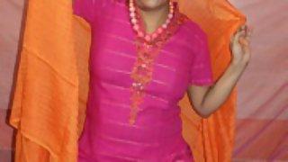 rupali in rajhastani dress