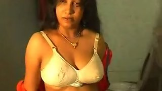 Indian Wife Getting Naked For Shower