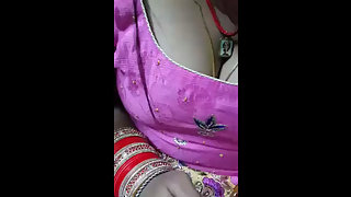 Newly Married Indian Wife Boobs