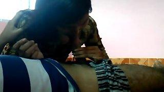 Bangladeshi college babe Roshnie Jessore with her boyfriend