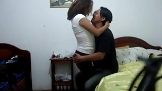 Nepali married couple celebrating anniversary sex tape