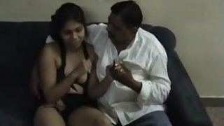 Sexy girl enjoying with uncle