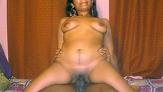 mature Indian hooker giving her man a blowjob