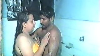 Babita aunty enjiying sex with his boyfriend in shawer