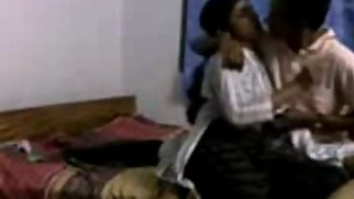 Young college girl intimate moment with her boyfriend recorded