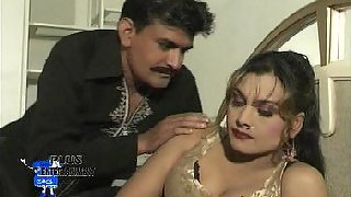 Mature tawaif talking with hot man