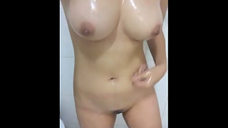 Young Hot Indian Teen In Shower