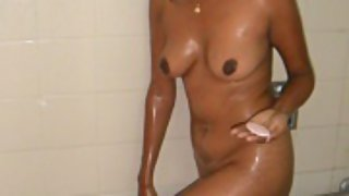 sweet Indian girl taking shower caught on camera