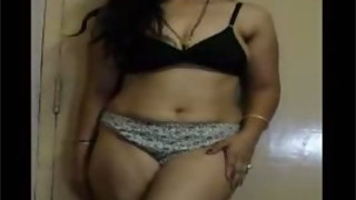 juicy married wife getting naked on sexy Indian song